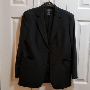 Brooks Brothers suit black jkt size 10 pants sz 6